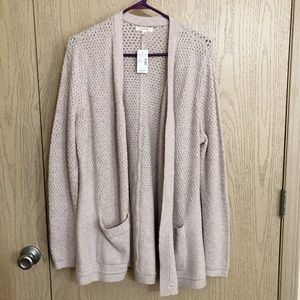 🎀NWT🎀 Blush Pink Plus Size Maurice's Cardigan